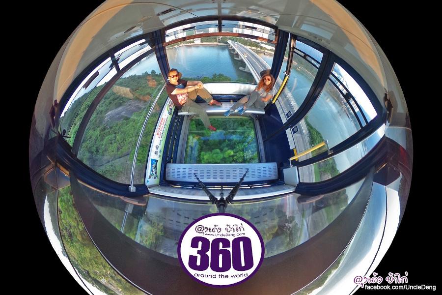 รวมภาพ นองปิง (Ngong Ping 360) ในรูปแบบภาพ 360 องศา รอบทิศทาง
