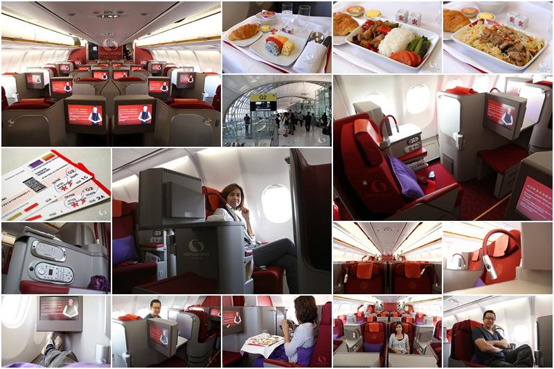 Hong Kong Airlines เครื่องใหม่ล่าสุด ชั้น Business Class (ปี 2556)
