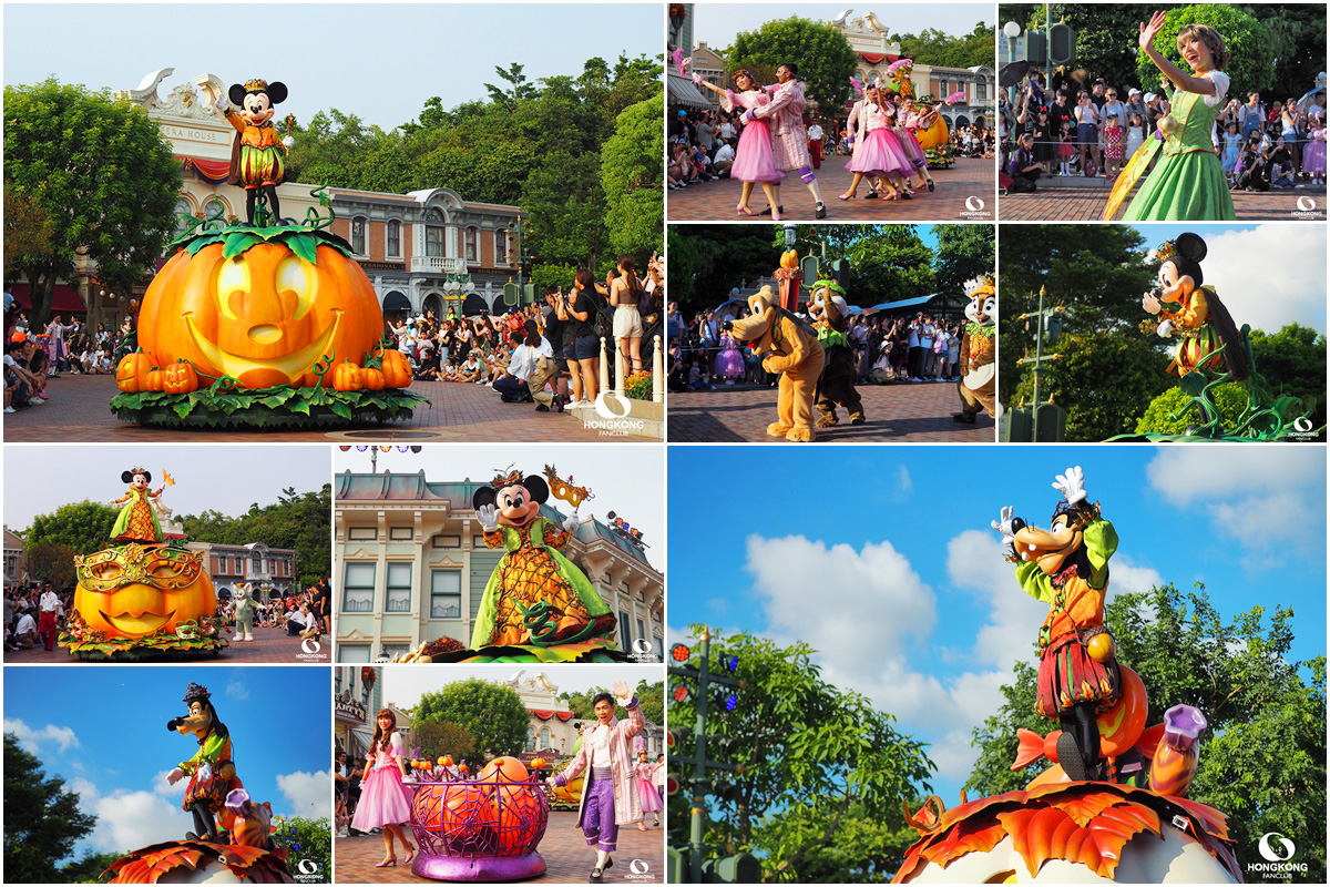 Mickey's Halloween Time Street Party!
